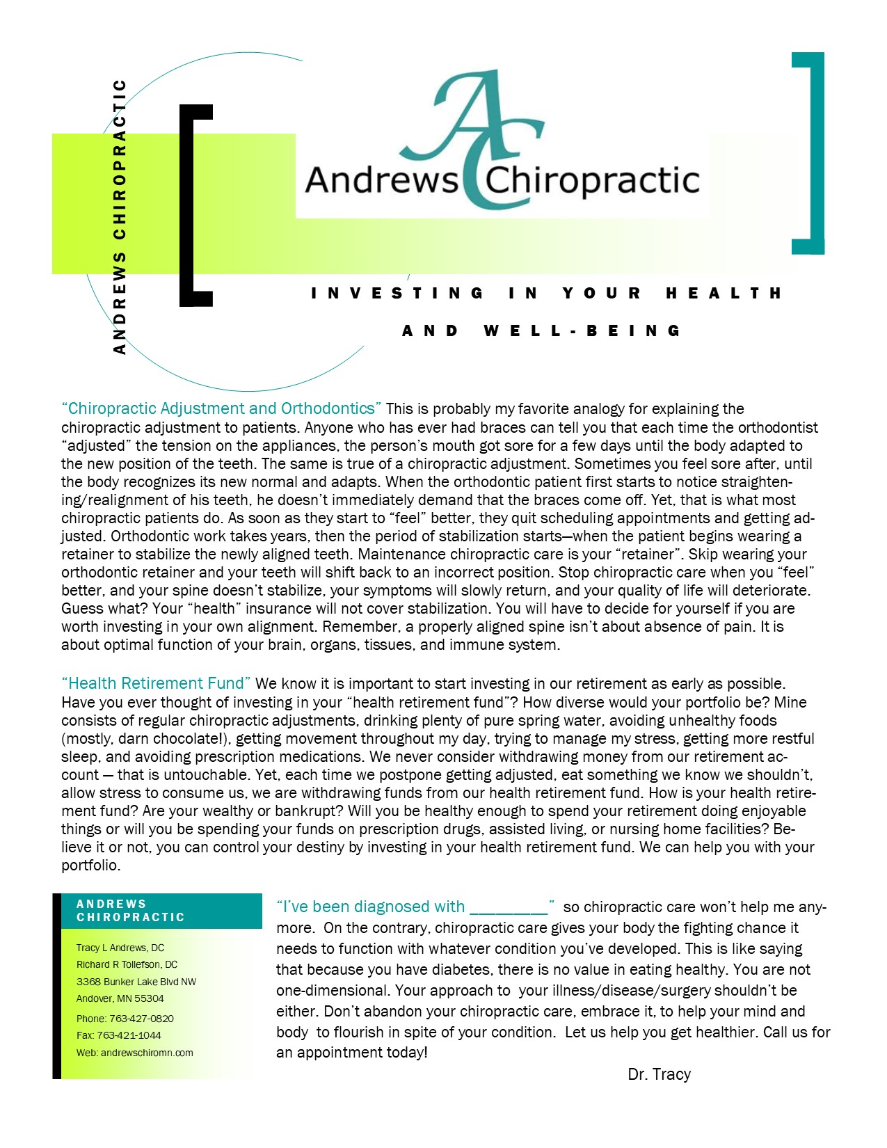 Chiropractic and Orthodontics